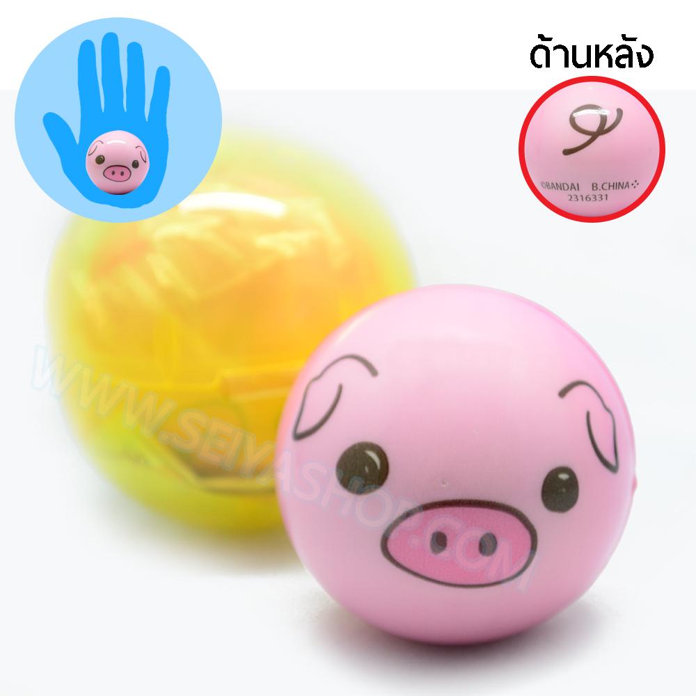 CA826 สกุชชี่ squeez ball หมู ขนาด 6 cm (standard)