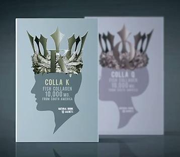 (3 กล่อง 1990 บาท แถมฟรี 2 ซอง) SOIN COLLA K โซอิน คอลลา เค คอลลาเจนสำหรับผู้ชาย