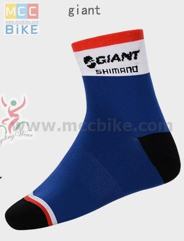ถุงเท้าจักรยาน ถุงเท้าปั่นจักรยาน โปรทีม Giant