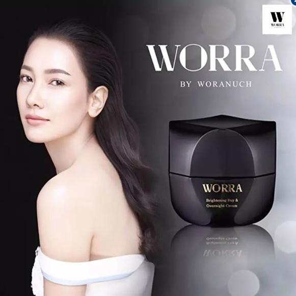 WORRA By Woranuch วอร์ร่า บาย วรนุช ไบรท์เทนนิ่ง เดย์ แอนด์ โอเวอร์ไนท์ ครีม Brightening Day & Overnight Cream 35ml