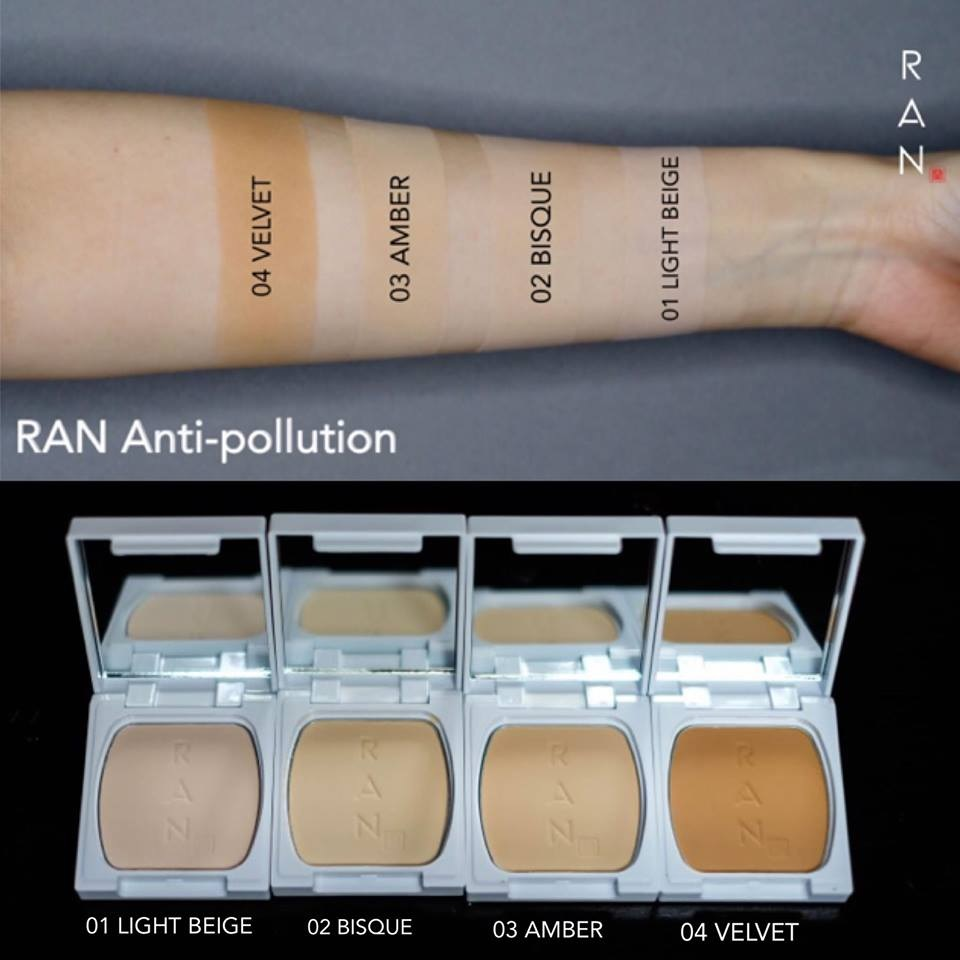 RAN Anti-pollution มีกี่สี รันมินิ มีกี่สี