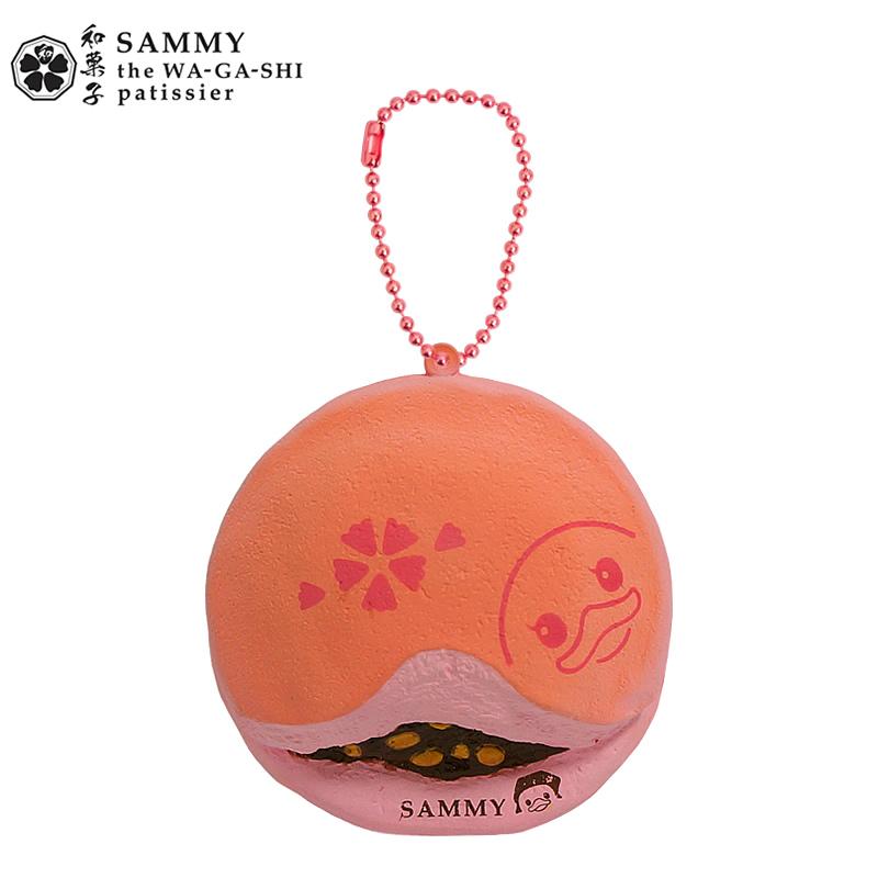 CA398 SAMMY Strawberry Squishy (SOFT) 8 cm ลิขสิทธิ์แท้