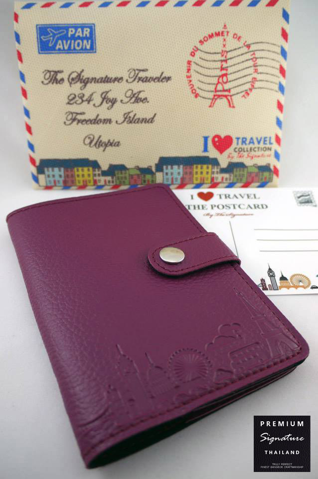 Purple(ม่วง) - Passport Holder