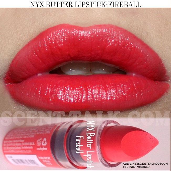 NYX Butter lipstick #Fireball