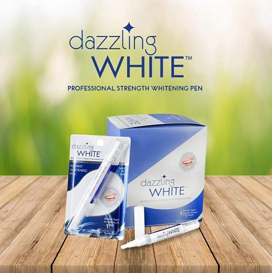 ปากกาฟอกฟันขาว Dazzling White ผลิตภัณฑ์นำเข้าจากอเมริกา ที่ผ่านวิจัยและพัฒนาโดยทีมทันตแพทย์ จึงมั่นใจได้ในเรื่องคุณภาพและความปลอดภัย