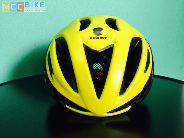 หมวกกันน๊อค จักรยาน BikeBoy สีเหลืองดำ