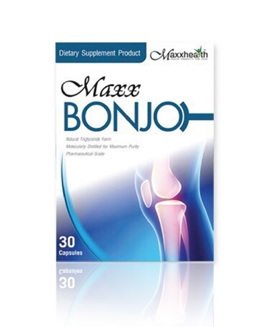 MAXX BONJO แม็กซ์ บอนโจ 30 CAPSULES เสริมสร้างกระดูก ซ่อมแซมส่วนที่สึกหรอของร่างกาย การรักษาแผลเป็นของร่างกายช่วยซ่อมแซมผิวหนัง ข้อต่อต่างๆ