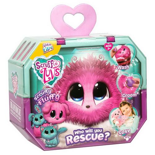 PR005 (PRE ORDER) ตุ๊กตา สัตว์เลี้ยงเซอร์ไพร์ส Little Live Pets Scruff