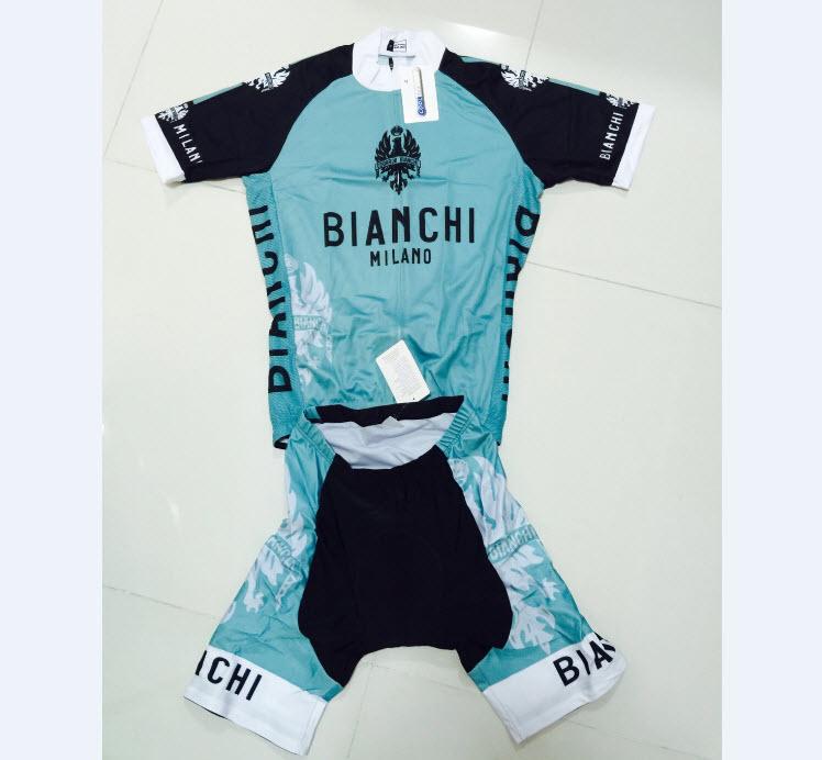 ชุดปั่นจักรยาน Bianchi B06 เสื้อปั่นจักรยาน และ กางเกงปั่นจักรยาน