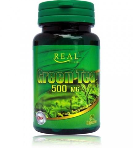 Real Elixir Green Tea Plus 500mg สำเนา