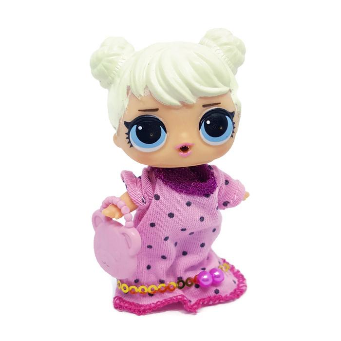 LC04 L.O.L Fashion ชุดตุ๊กตา LOL พร้อมกระเป๋า (ไม่รวมตุ๊กตา)