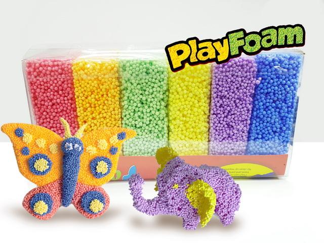 Z036 Play Foam โฟมปั้นได้ 6 สี ชุดใหญ่