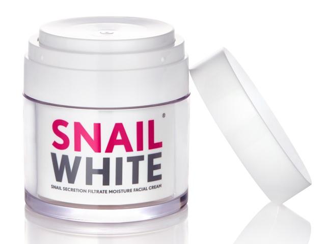 Snail White Cream 50g. ครีมเมือกหอยทาก ที่ดาราหลายคนใช้ ช่วยให้ใบหน้า ขาวกระจ่างใส อย่างเป็นธรรมชาติ