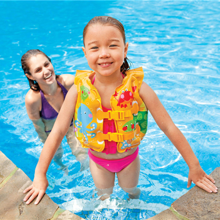 LW001 เสื้อชูชีพ INTEK แท้ สำหรับเด็ก 3- 6 ปี
