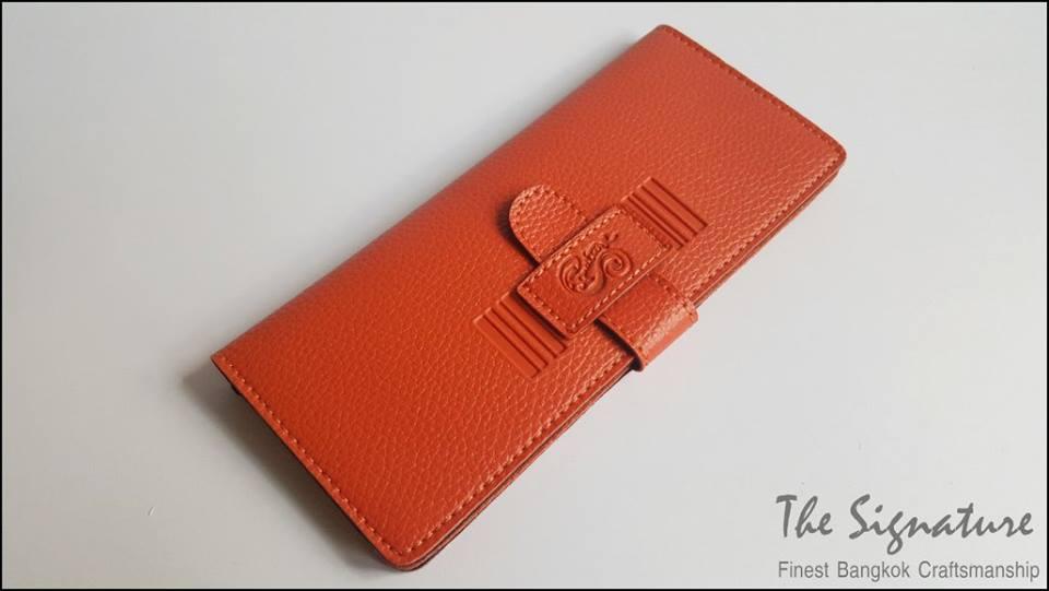 Togo Orange(ส้ม) - Sashy Yen Wallet
