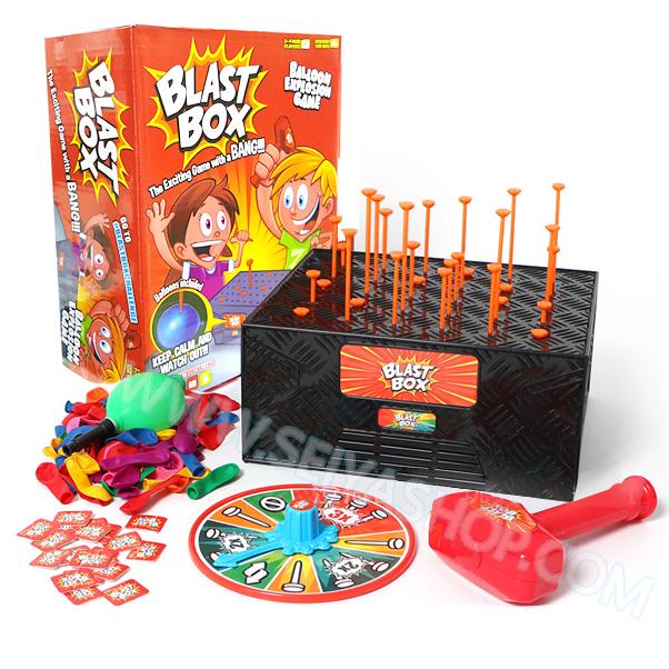 BO144 เกมส์ กล่องระเบิด BLAST BOX แฟมิลี่ เกมส์เล่นสนุกนาน กับเพื่อนๆ และ ครอบครัว