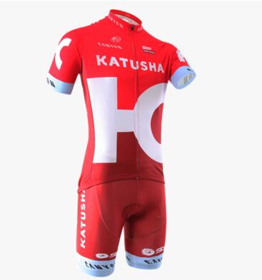 ชุดปั่นจักรยาน Katusha 2016 เสื้อปั่นจักรยาน และ กางเกงปั่นจักรยาน