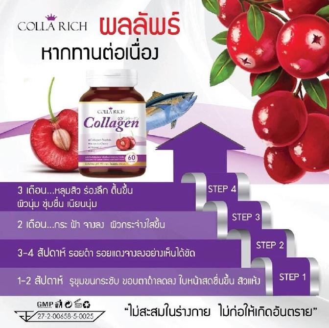 Colla Rich Collagen นานไหมกว่าจะเห็นไหม คอลลาริช คอลลาเจน นานไหมกว่าจะเห็นผล