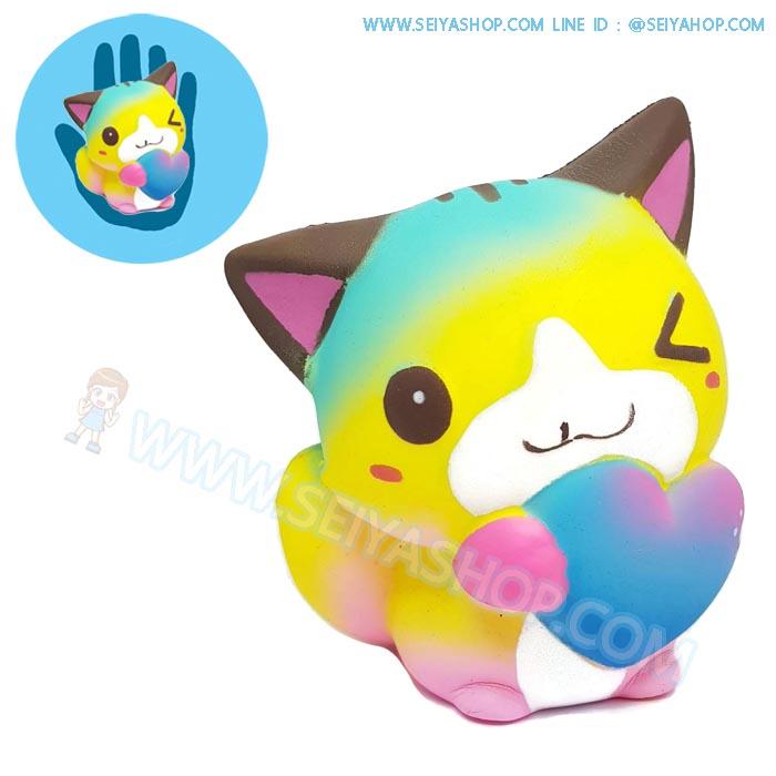 CB692 สกุชชี่ แมว ขนาด 12 cm (Super Soft)