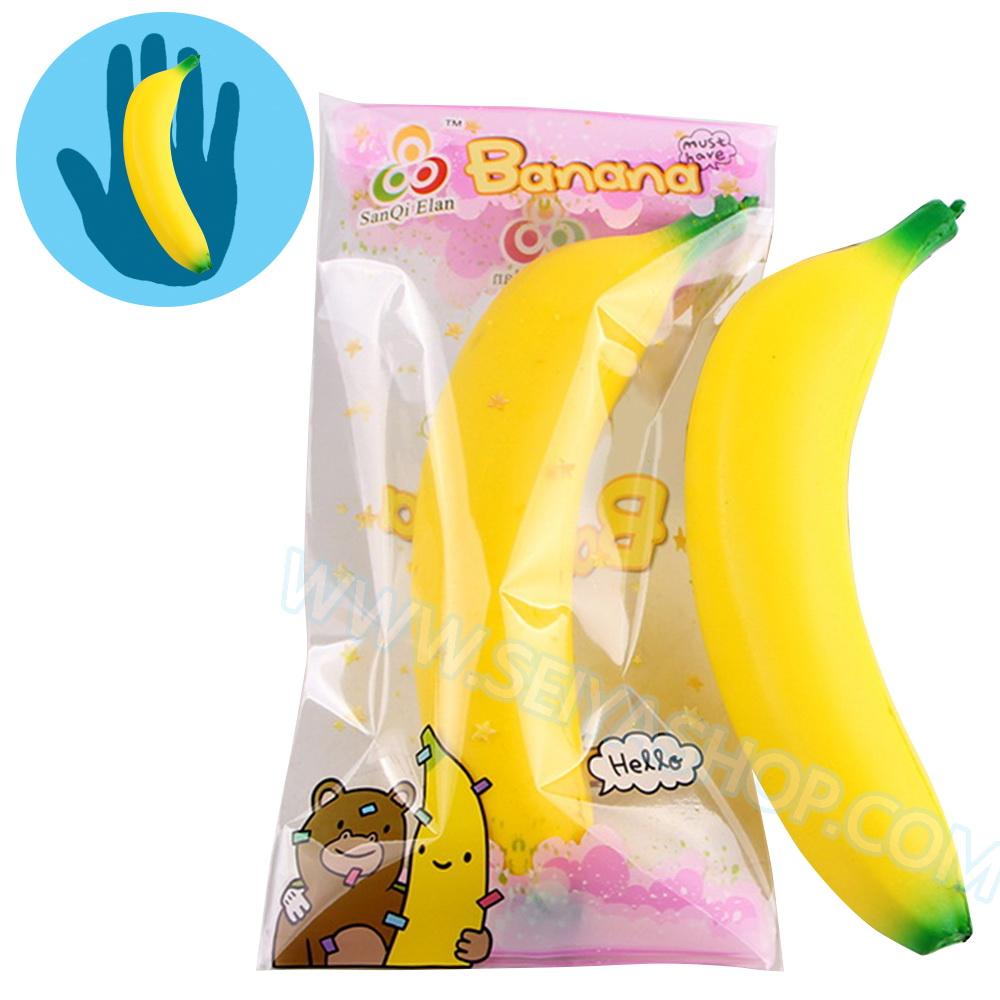 CB459 สกุชชี่ กล้วย (Super Soft) ขนาด 15 cm