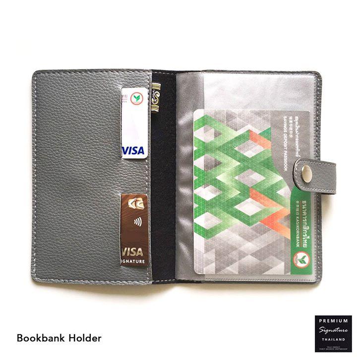 Bookbank Holder▪ กระเป๋าใส่สมุดบัญชีธนาคาร