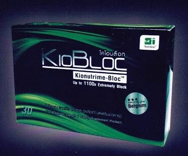 KioBloc Kionutrime-Bloc ไคโตซานจากพืชแคปซูล 30 Capsules