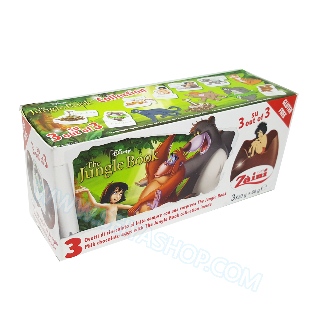 SU049 Zaini Chocolate Egg Surprise ไข่ เซอร์ไพร์ส ช๊อคโกแล๊ค พร้อมของเล่นสุดฮิต
