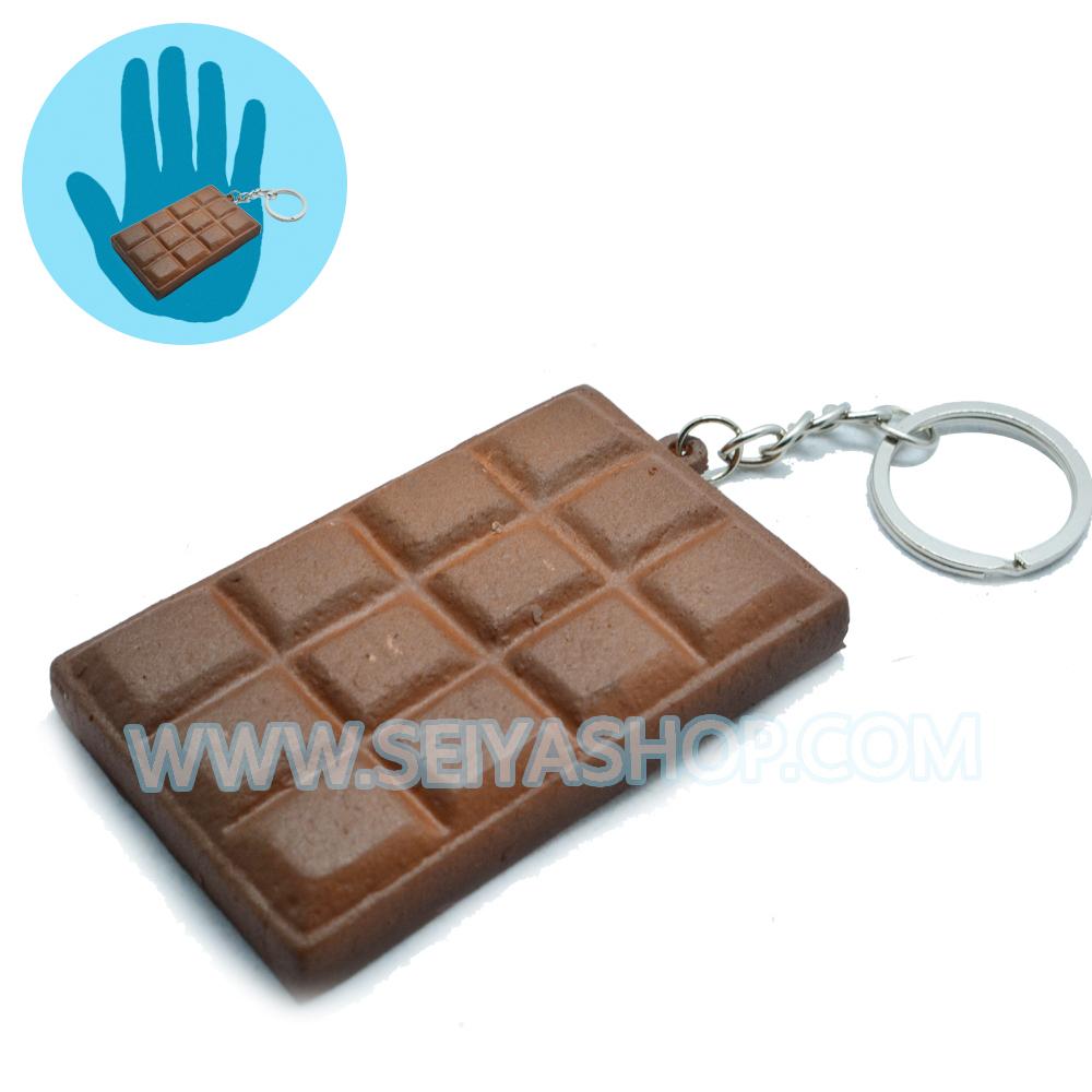 CA745 สกุชชี่ ช็อกโกแลต สีน้ำตาล (soft) ขนาด 7 cm