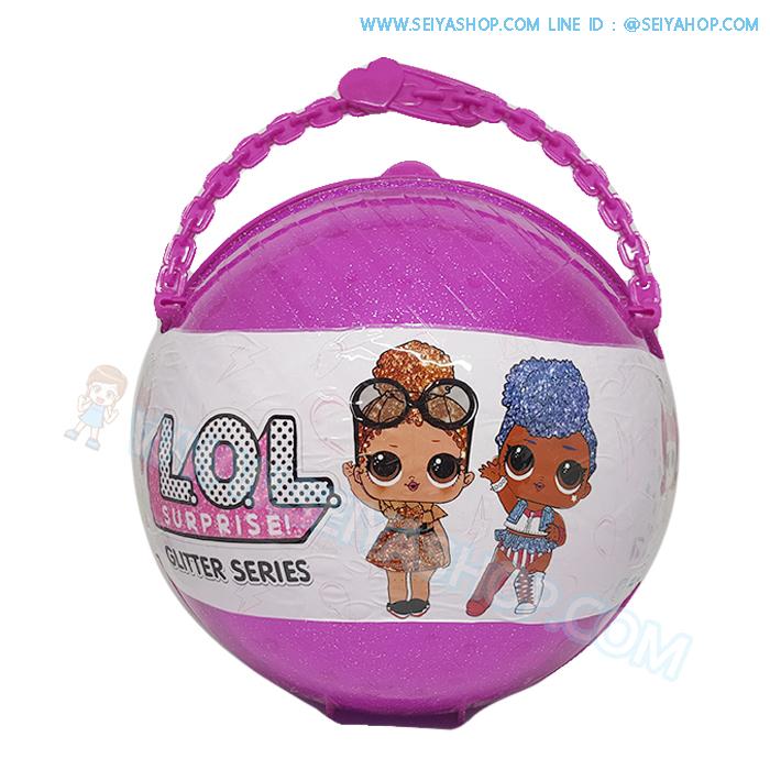 LO089 ไข่ LOL L.O.L Pearl Surprise (ไม่มี Bath boom)