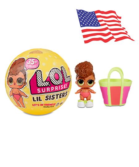 LA019 (งานแท้) L.O.L. 5 SURPRISE lil Sister Series 3 (น้องสาว)