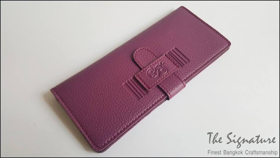 Purple(ม่วง) - Sashy Yen Wallet
