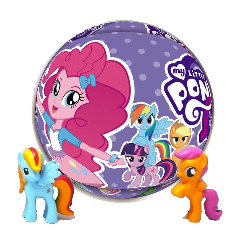 SR009 ไข่เซอร์ไพร์ส Little Pony 3 ชั้น