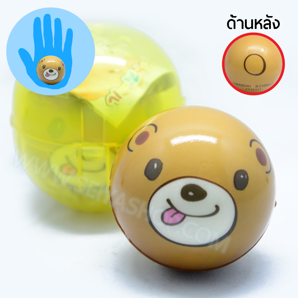 CA825 สกุชชี่ squeez ball หมี ขนาด 6 cm (standard)