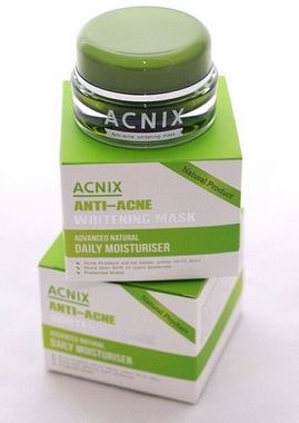 Acnix Anti-Acne Whitening Mask มาร์ค แอคนิก แอนตี้ แอคเน่ ไวท์เทนนิ่ง มาร์ค 15 g. ช่วยแก้ปัญหาสิวที่ต้นเหตุ