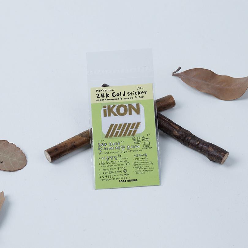 KINP1 สติกเกอร์ 24K IKON ของแฟนเมด ติ่งเกาหลี