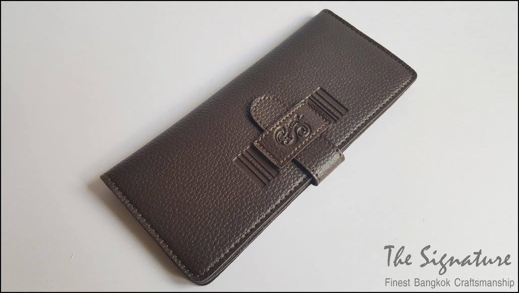 Secrect Brown(น้ำตาลเข้ม) - Sashy Yen Wallet