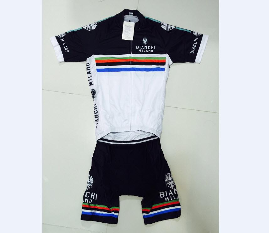 ชุดปั่นจักรยาน Bianchi B08 เสื้อปั่นจักรยาน และ กางเกงปั่นจักรยาน