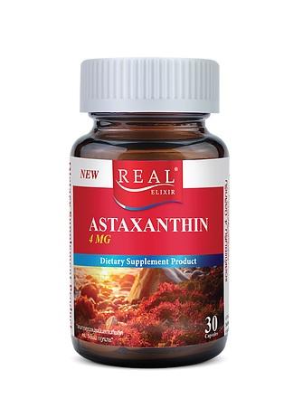 Real Elixir ASTAXANTHIN 4 mg. เรียล อิลิเซอร์ แอสต้าแซนธิน 4 มิลลิกรัม