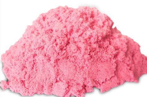 PS018 ทรายนิ่ม Soft Sand Play Sand ทรายสีชมพู น้ำหนัก 500 กรัม