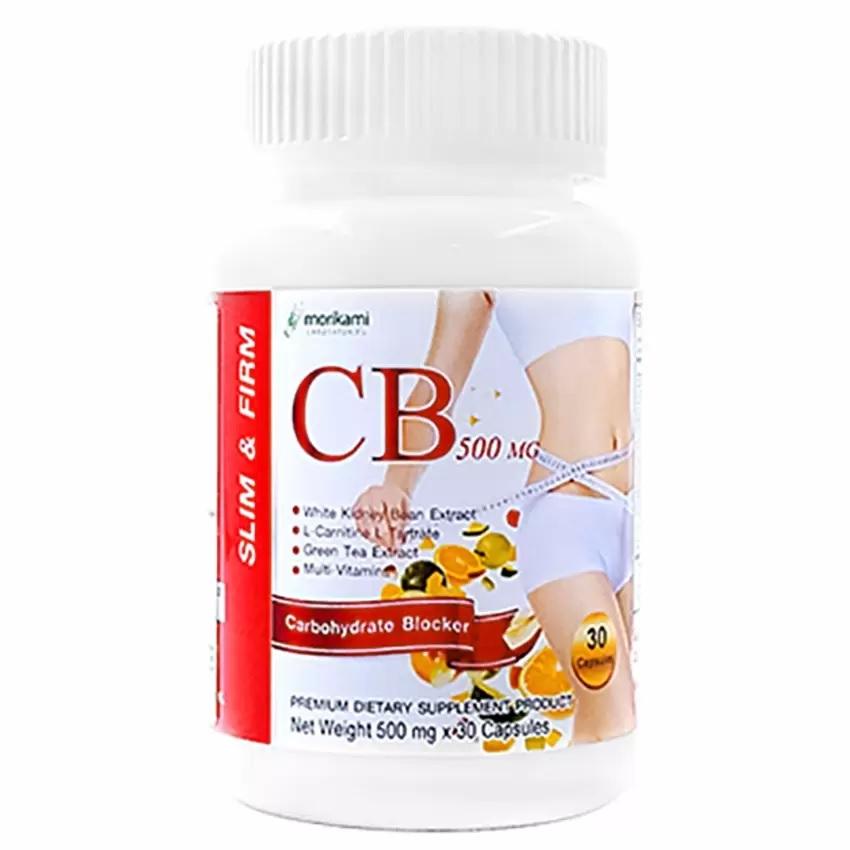 Morikami CB 500 mg. โมริคามิ ซีบี 500 [30 แคปซูล] ช่วยควบคุมน้ำหนัก รักษารูปร่างและเผาผลาญไขมันส่วนเกิน