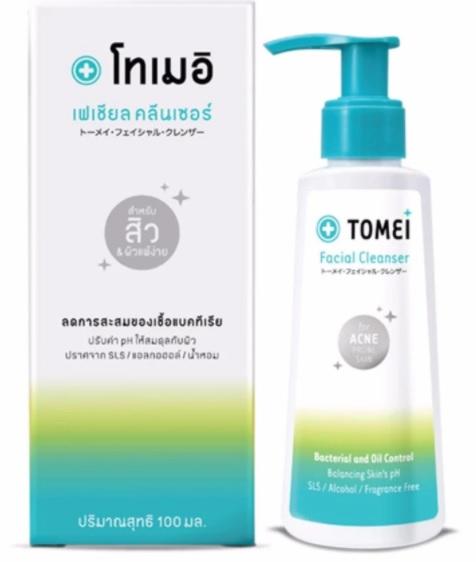 Tomei Facial Cleanser โทเมอิ เฟเชี่ยล คลีนเซอร์ เจลล้างทำความสะอาดผิวหน้า 100ml