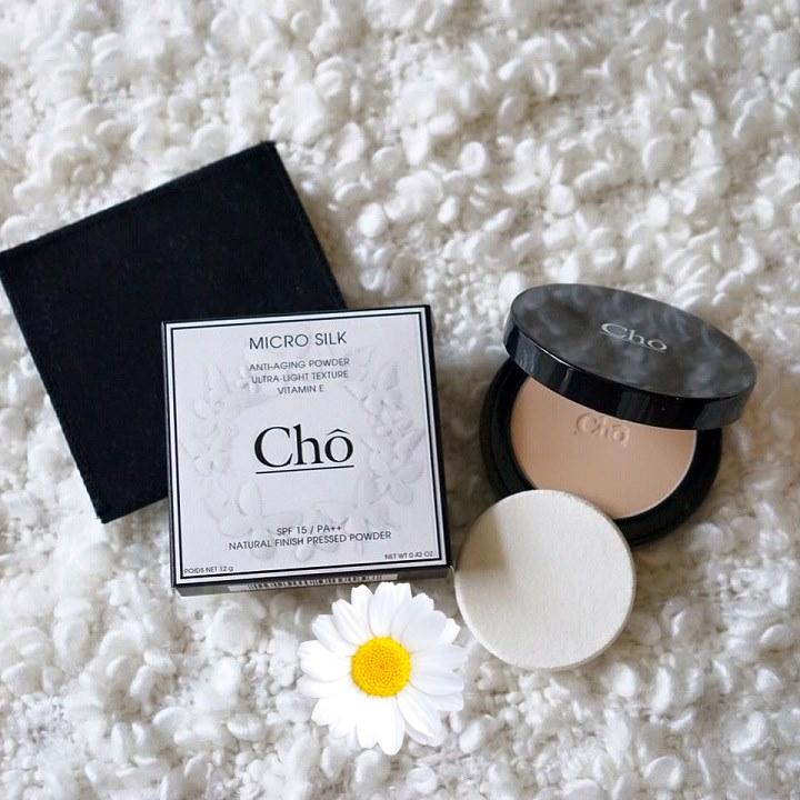 แป้งโช ไมโครซิลค์ Cho powder micro silk เนย ขายส่ง560 บาท ของแท้