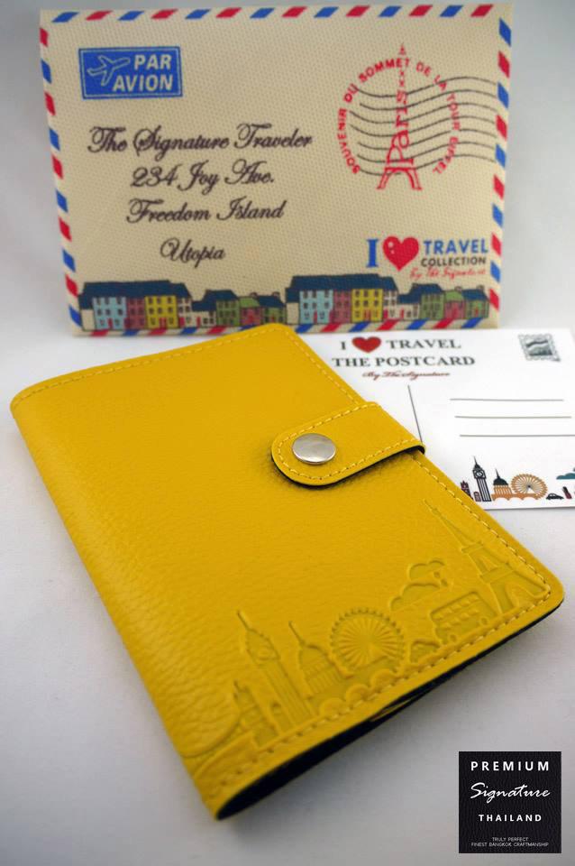 Light Yellow(เหลือง) - Passport Holder