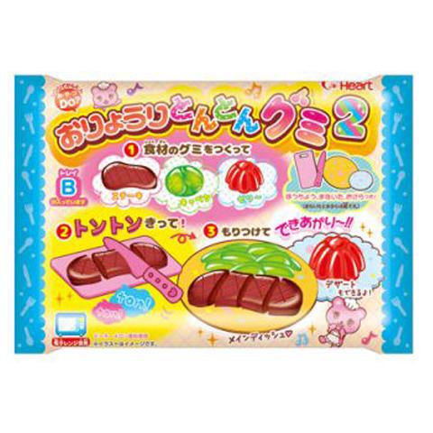 M154 ขนมญี่ปุ่น DIY ของเล่นกินได้ Playing House Kitchen Gummy