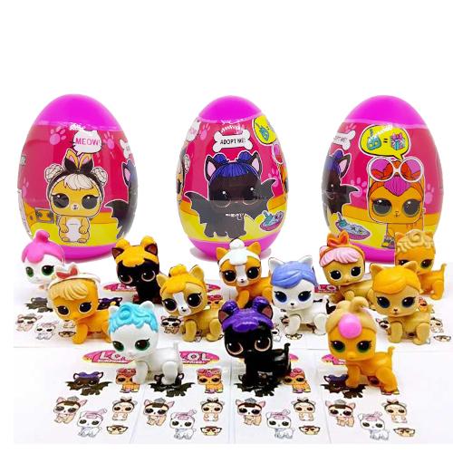 LO055 L.O.L Egg Surprise Pet แพ๊ค 3 ลูก (คละแบบ)