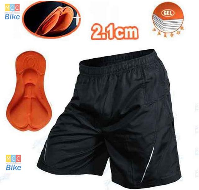 กางเกงปั่นจักรยาน ขาสั้น มีซับใน เป็น boxer ขนาด XXL