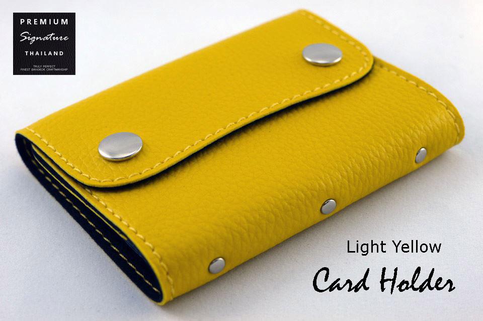 Light Yellow(เหลือง) - Card Holder