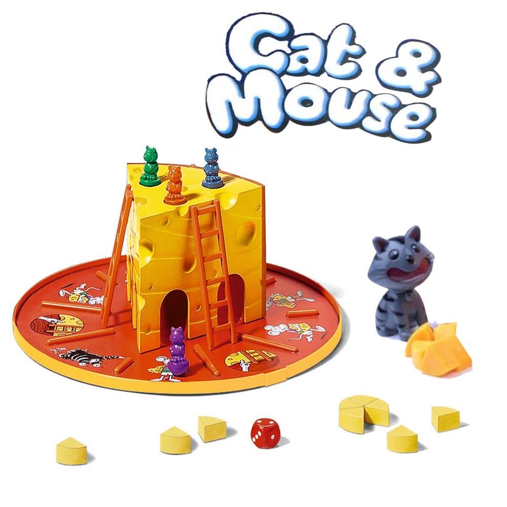 BO028 Cat & Mouse เกมส์บอร์ด เสริมพัฒนาการ เกมส์ แมวไล่จับหนู
