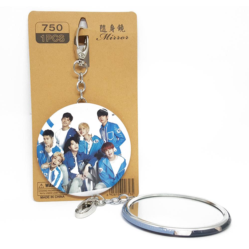 KGTP37 พวงกุญแจ กระจก GOT7 ของแฟนเมด ติ่งเกาหลี