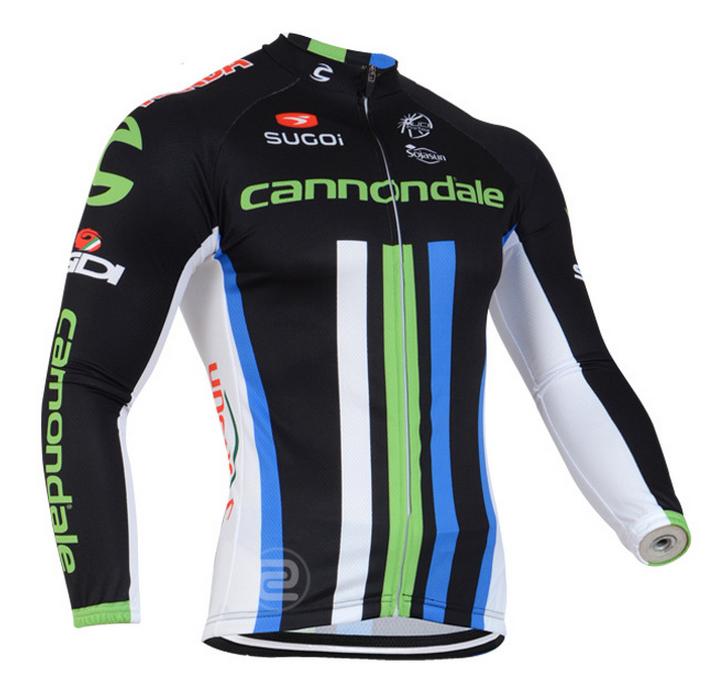 เสื้อปั่นจักรยาน แขนยาว Cannondale พร้อมส่ง